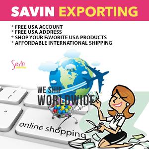 Affordable Discounted International Shipping| Savin Exporting